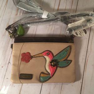 Chala Crossbody clutch purse Hummingbird NWT